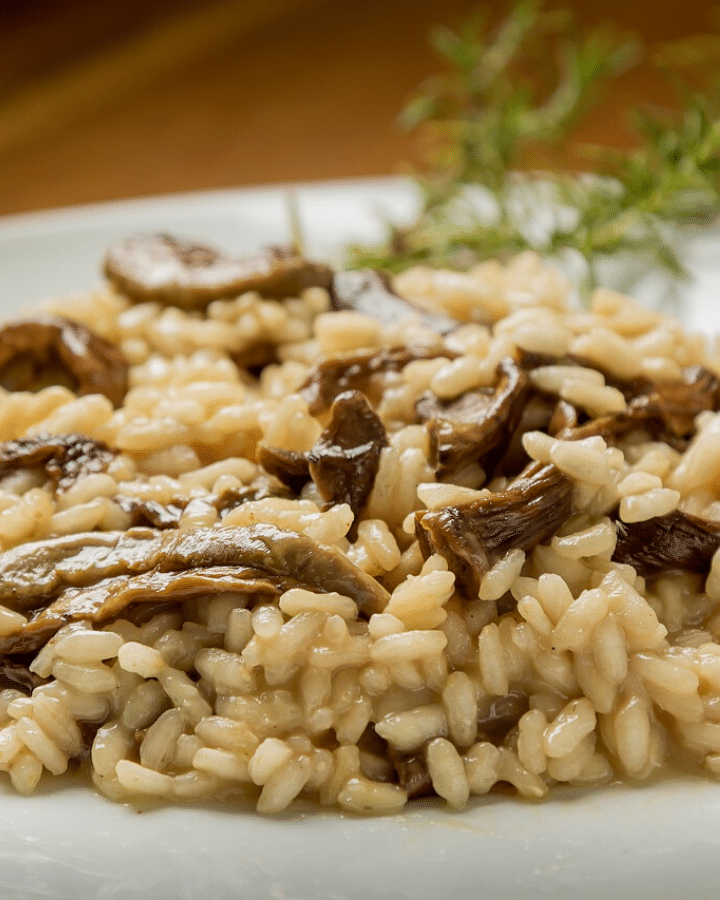 Vegan Mushroom Risotto Simply Healthy Vegan